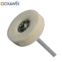 12pcs Felt Brush Abrasive Tool for Dremel Accessories Felt Mounted Polishing Grinding Wheel Brush Rotary Power Tool Metalworking