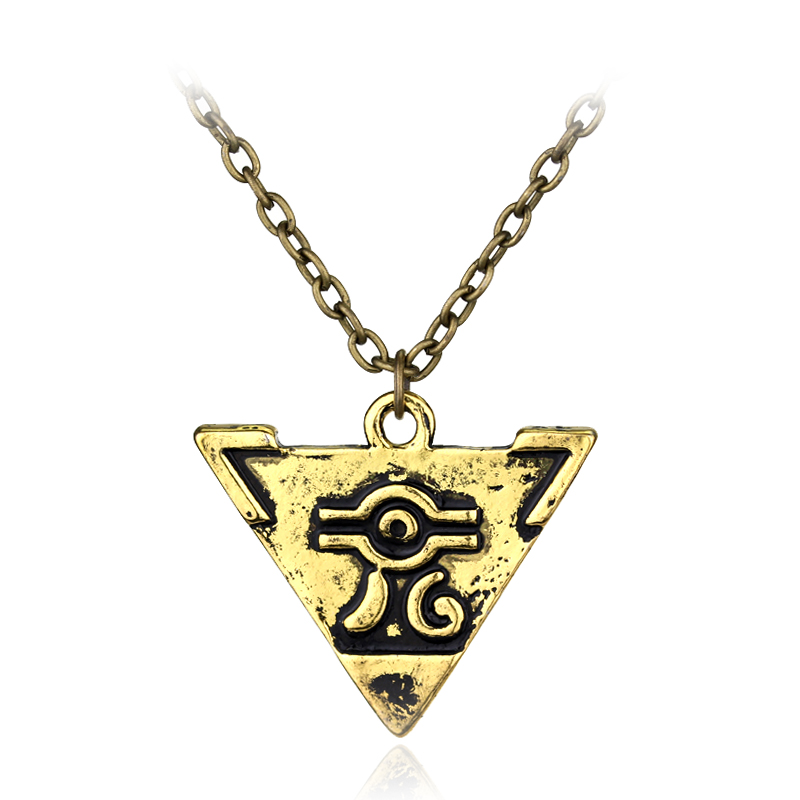 Delicate Collier Game Anime Yugioh Millenium Duel Monsters Pendant Egyptian 3D Yu-Gi-Oh Chain Necklace Gift For Fan Game Jewelry Top