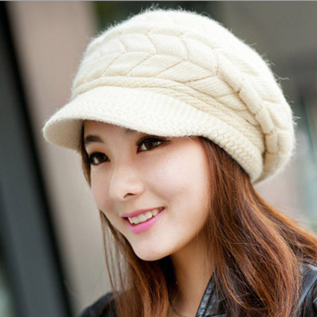 Winter Ladies Knitted Hat...