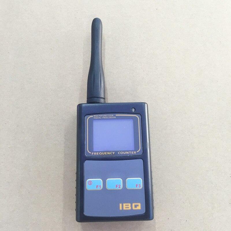 IBQ102 digital contador de frecuencia de mano medidor 50 MHz-2.6 GHz 10Hz-100 MHz para walkie talkie