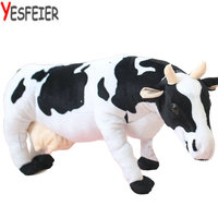 Emulational Milk Cow Toy Plush Soft Stuffed Animal Cattle Doll Nice Gift and Decoration 28inches Big size toys 70/80cm