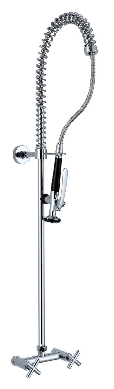 Pre Rinse Kitchen Sink Faucet Chrome