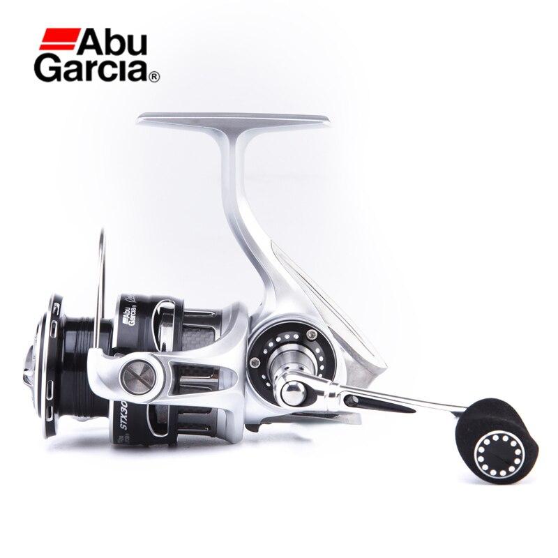Абу Garcia REVO2STX 9 + 1BB 6,2: 1 спиннингом 4 модели полностью металлический корпус Предварительная загрузка рыболовные принадлежности Pesca строю кату