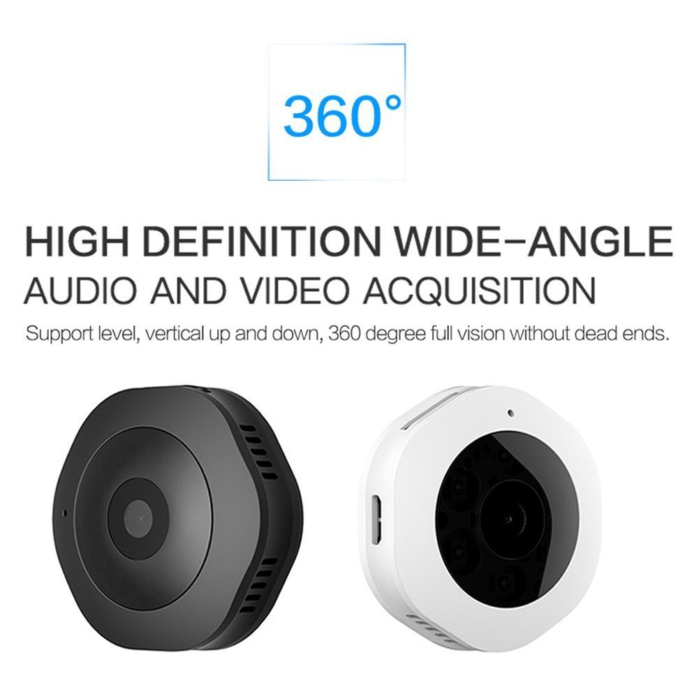 цена на New H6 Wireless WiFi Networking Camera Mini Camera HD Night Vision Network Remote Monitoring 1080P Camera