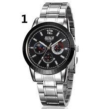 Новые мужские повседневные деловые часы, простые, fashion01.