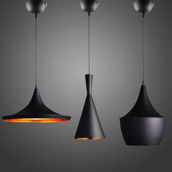 トムディクソンペンダントランプビートライトモダンな照明ロゴ天井からぶら下がっている熱い販売3ピース一緒にABC(背、太と幅)デザイン