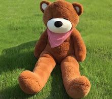 Joyfay 71 180cm Brown Giant Teddy Bear 1 8m Sleepy Huge Stuffed Plush Toy Big Bear