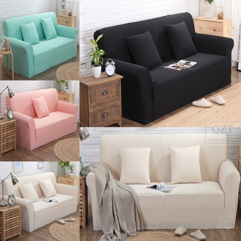 Modern Comfortable Sofa: Case Sofa Cover Jacquard Fabric Corner Couch Loveseats