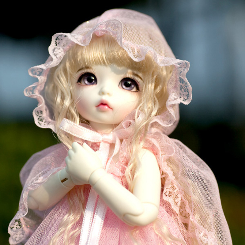 2018 New Arrival 1/6 BJD Doll BJD/SD Lovely Cute Pukifee Ante Doll With Eyes For Baby Girl Birthday Gift кукла bjd dc doll chateau 6 bjd sd doll zora soom volks