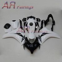 08 11 For Honda CBR1000RR Fairing Injection Molded Kits Body work Cowling CBR1000 RR 2008 2009 2010 2011 11 White Black Style7