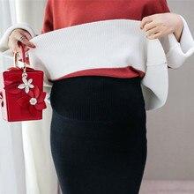 Knitted Maternity Skirt