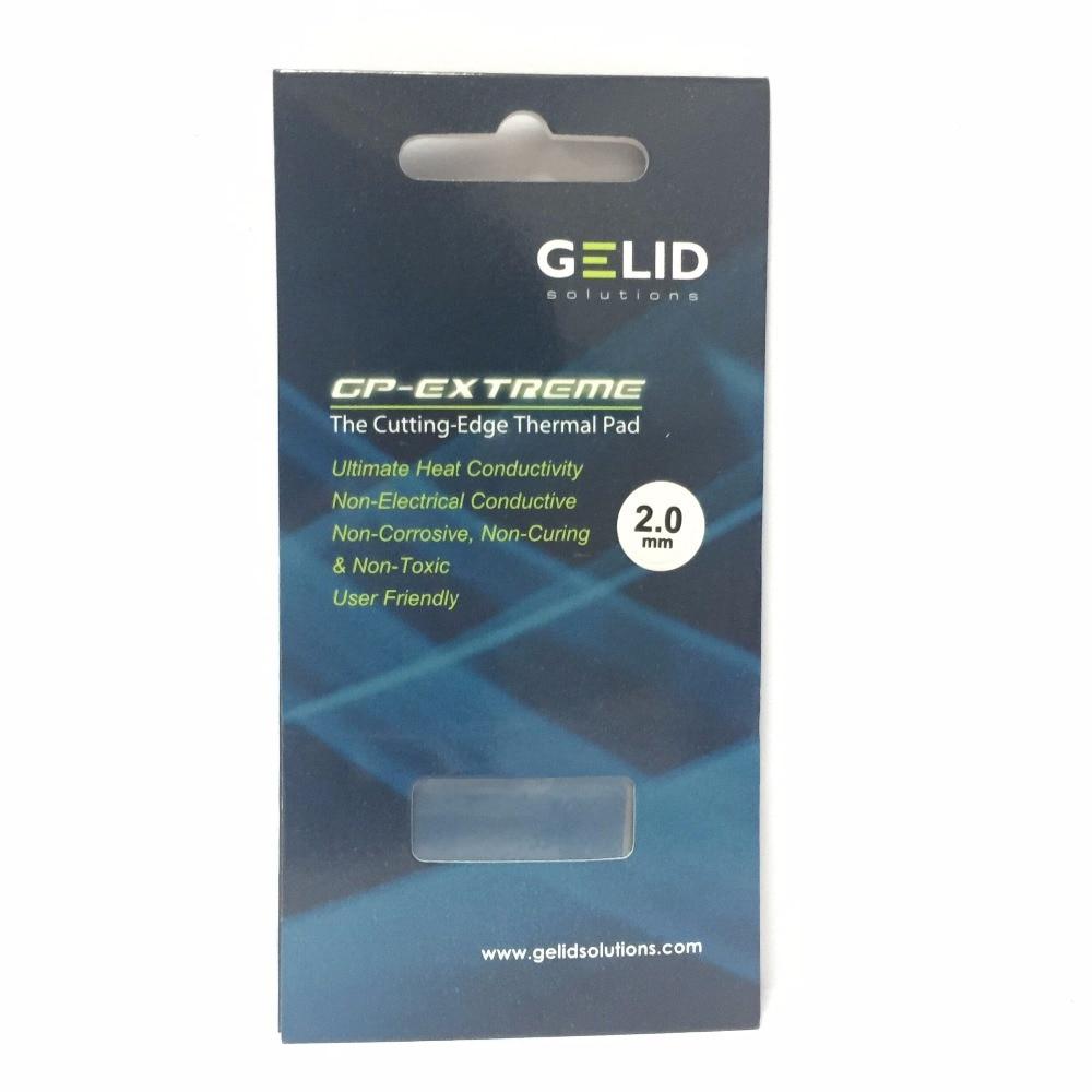 GELID GP-EXTREME 80X40 0.5 1.0 1.5 2.0 3.0mm PC CPU GPU Heatsink Cooling  North and South Bridge Video card  Thermal Pad W/MK 12 4