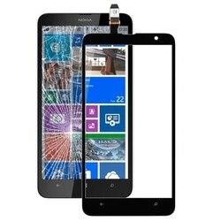 Panel dotykowy dla Nokia Lumia 530 520 820 610 625 720 830 1320 1520 ekran dotykowy Digitizer czujnik obiektywu szkło przednie w celu uzyskania w Panele dotykowe do telefonów komórkowych od Telefony komórkowe i telekomunikacja na