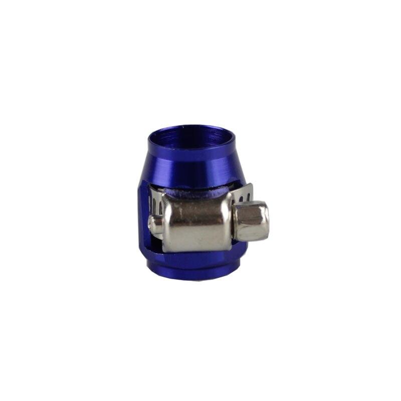 Rastp-красочные применяются к AN8 масляные зажимы для топливного шланга концевые Отделители Алюминиевый шланг соединитель для шланга зажимы RS-TC008-AN8 - Цвет: Blue