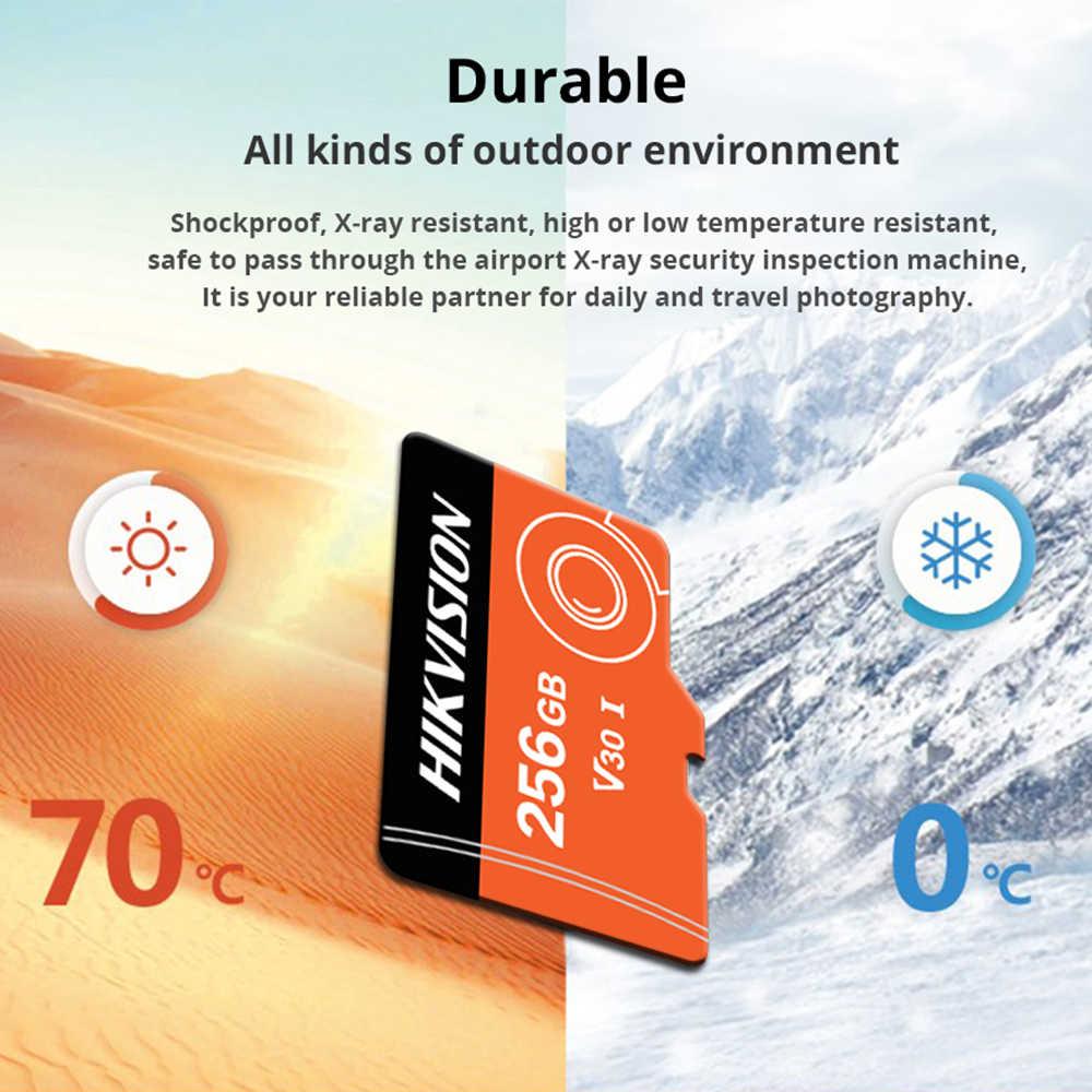 の HIKVISION SD カード 256 ギガバイト 128 ギガバイト 32 ギガバイト 64 ギガバイト v30 メモリカード Ip カメラ監視 cartao デメモリアラム高容量ミニ TF カード