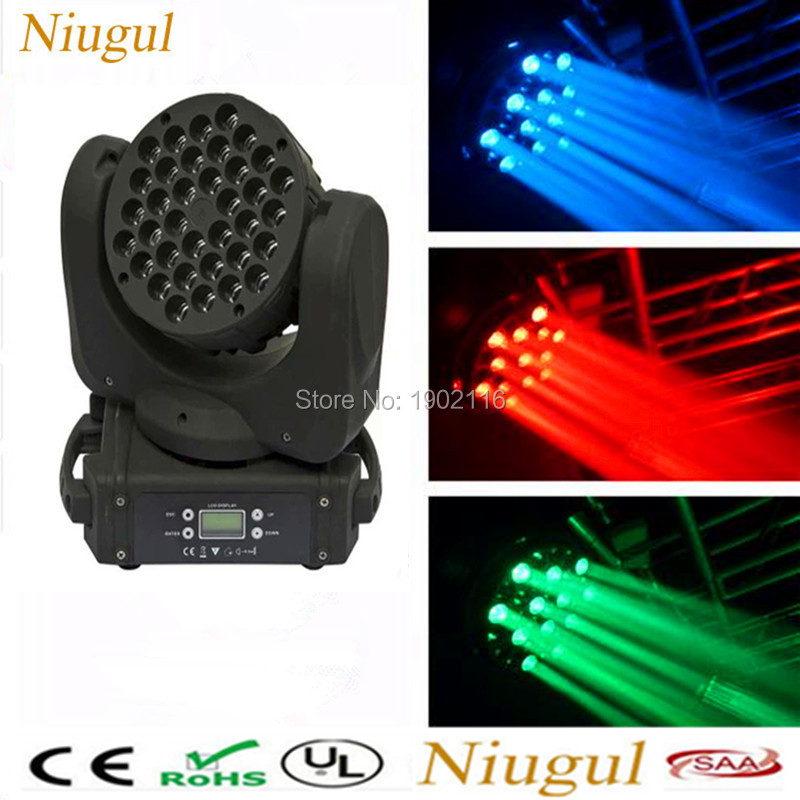 LED 36x3W RGBW led linear beam moving head light LED wash beam light Professional dmx Stage lighting Club party disco dj lights  2017 mini led spider 8x10w rgbw color led moving head beam light dmx stage light party club dj disco lighting holiday lights