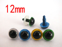 12mm Safety Eyes Plastic Eyes Animal Eyes Bear Eyes With Washers 4 colors