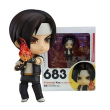 Nendoroid #683 THE The King Of Fighters XIV Q Version  moveable Kyo Kusanagi action figure figurine все цены