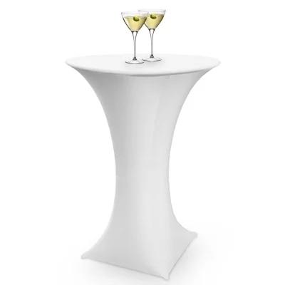 Aliexpress.com : Buy White Spandex Cocktail Table Cover From Reliable  Spandex Cocktail Table Cover Suppliers On LiQi Furniture U0026 Furnishings