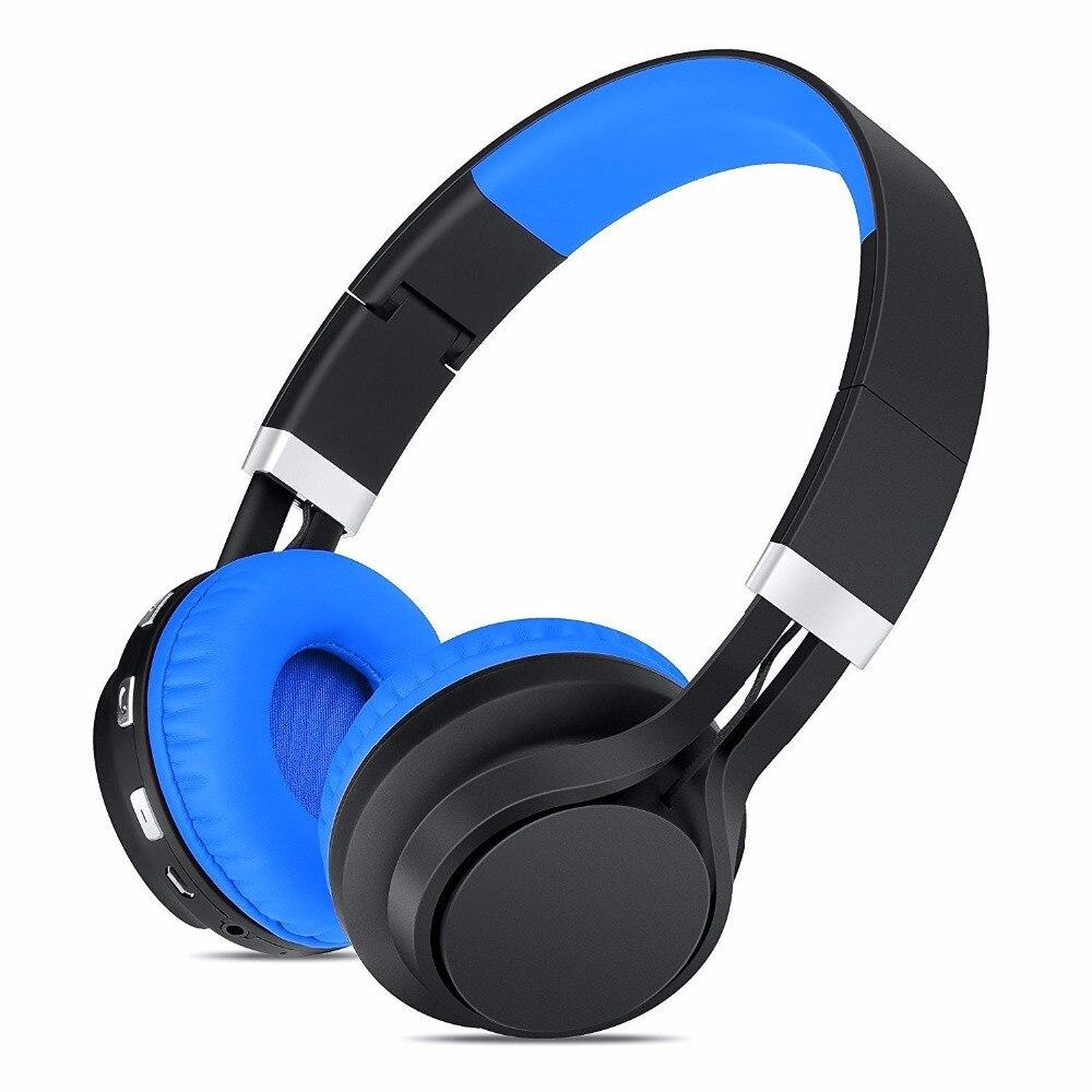 2017 folding sport bluetooth headphone bass stereo headset. Black Bedroom Furniture Sets. Home Design Ideas