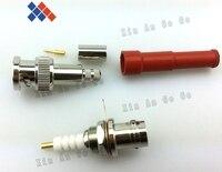 BNC Pair High Voltage Power RF Connector MHV 3000V RG59 62 Free Shipping