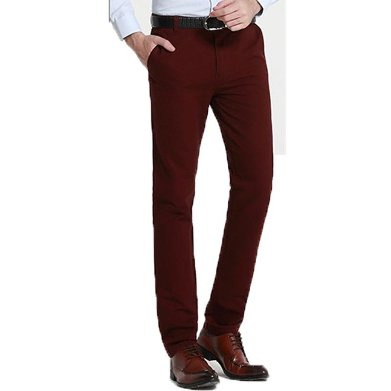 Designer Dress Pants Men Promotion-Shop for Promotional Designer ...
