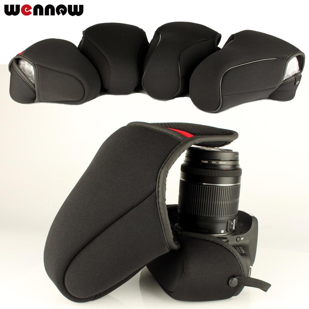 Wennew DSLR cámara interior suave funda bolsa para el Nikon D7500 D7200 D7100 D3400 D3200 D3300 D5100 D5600 D5500 D5300 D5200 D40 D90 D700