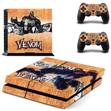 Venom Vinyl PS4 Full Cover Skin Sticker for Sony Playstation 4 Console  and Two Controller Stickers Accessories