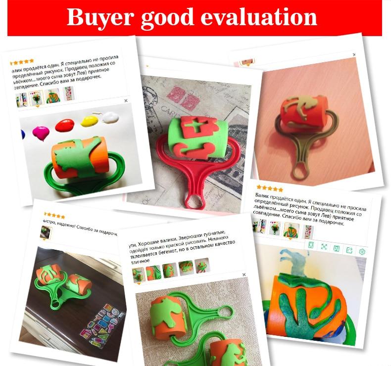 16cm-EVA-Sponge-Roller-Paintbrush-For-Kids-Drawing-Animal-Childrens-Paint-Graffiti-Nursery-Art-And-Craft-Paint-Roller-Brusher-2