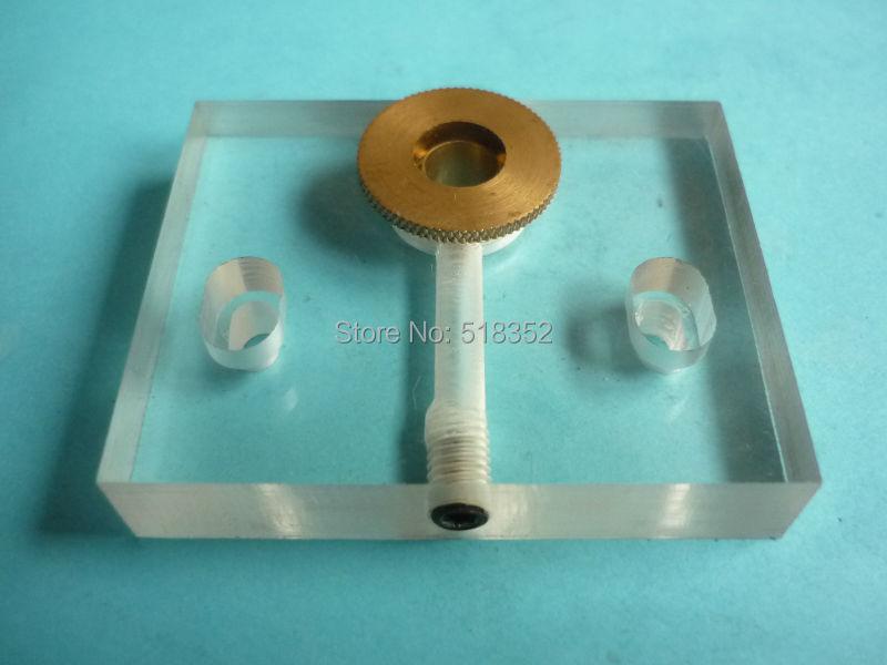 65 х 52 х 12 мм акрил струи воды Панель/Распыление воды для охлаждения листа с латунь сопла od16.5mm, edm Провода вырезать высокое Скорость машины