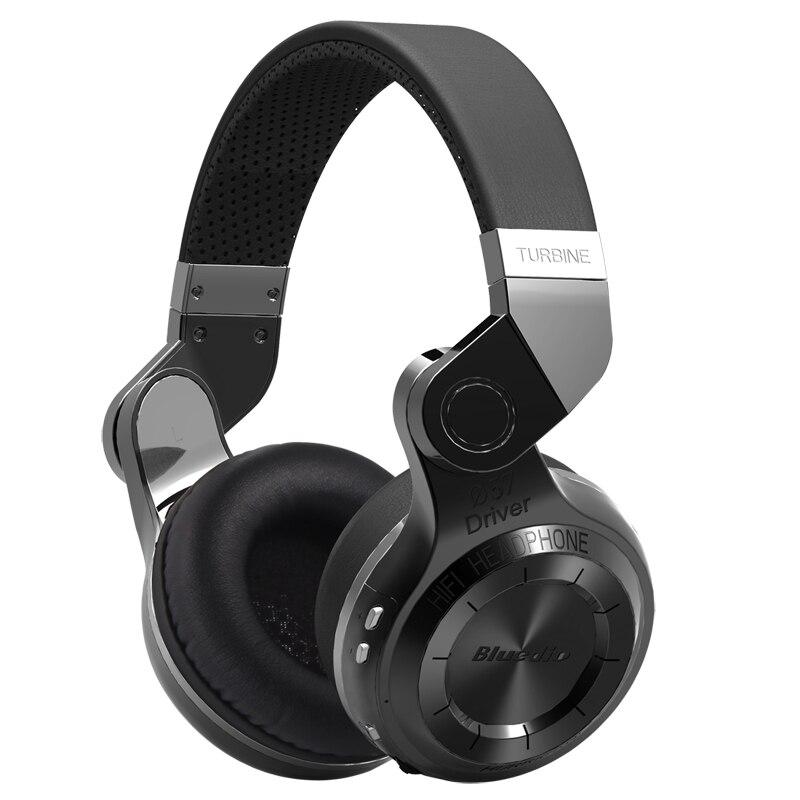 Bluedio T2 auriculares inalámbricos Bluetooth 3D estéreo auriculares huracán serie auriculares con micrófono para teléfono