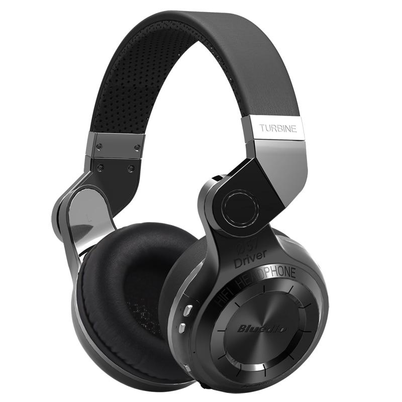 Originale Bluedio T2 bluetooth stereo cuffie senza fili auricolare bluetooth Serie Hurrican cuffia con microfono per il telefono