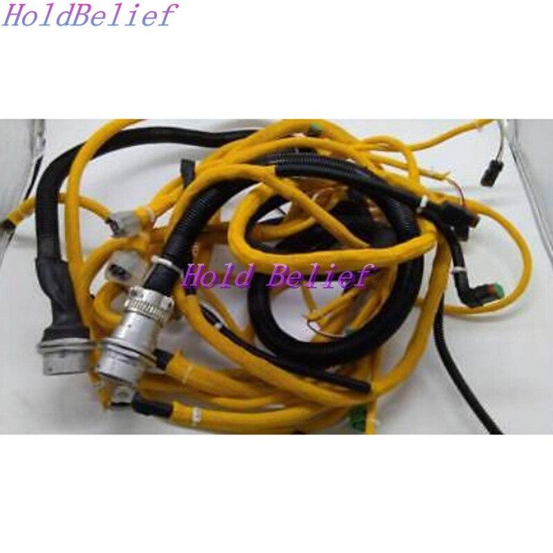 Engine Wire Harness 6156-81-9320 For KOMATSU PC400-7 (2 Wires)