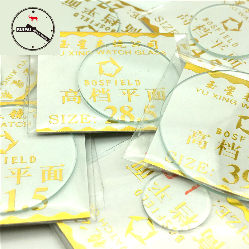 Wholesale 138pcs.lot Mineral Watch Glass 16mm-50mm Assort Size 1.0mm Thickness Watch Glass For Watchmaker Replacement