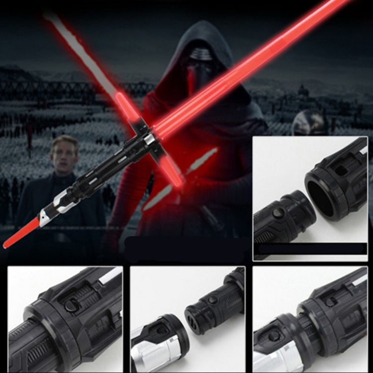 2018 Sword light saber retractable toy Star Wars Action Figure kids favorite Led Flashing Lightsaber PVC gift Collection toys
