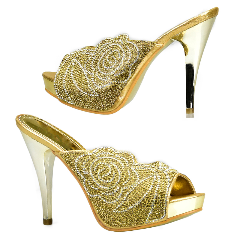 silber wein Strass Verziert Gold Nigerian Farbe blau Schuh Tasche Sets Und himmel gold Italienischen Set Neueste Schwarzes rot Party Afrikanischen Mit rot blau 1xRwv