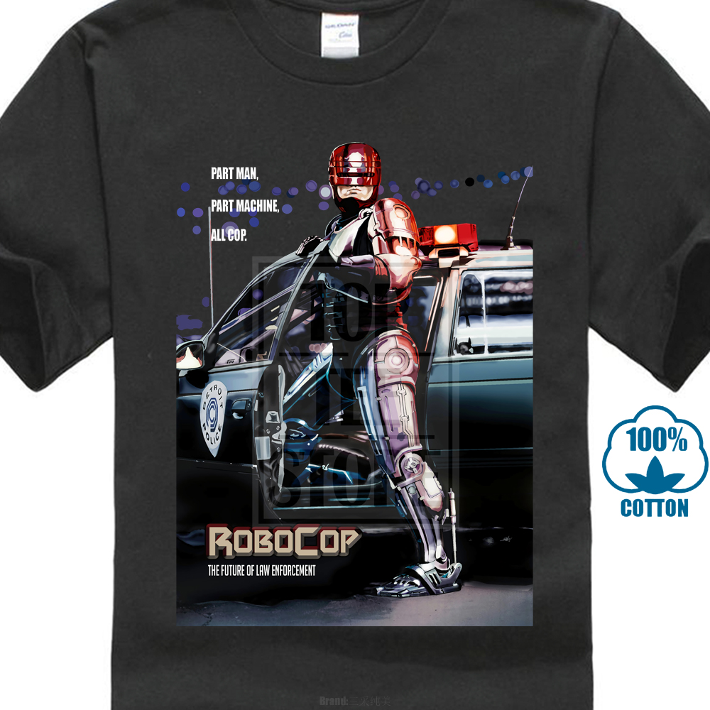 Authentic Robocop Movie Poster Adult   T     Shirt   S M L X 2X Top