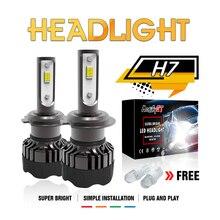 Modifygt 3 color changing 5 modes H4 led H7 H8/H9/H11 9005/HB3 9006/HB4 Headlight  3000K 4300K 6000K 50W 12V car styling