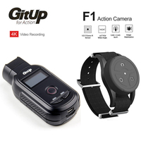 GitUp F1 90 Degree 4K 2160P FPV WiFi Sport Action Cam Ultra HD Time Lapse Outdoor Video Dash Cam Recorder With Remote Control