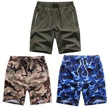SD 3PCS Boardshorts Male camouflage Shorts Plus Size Swimwear Mens Trunks camo
