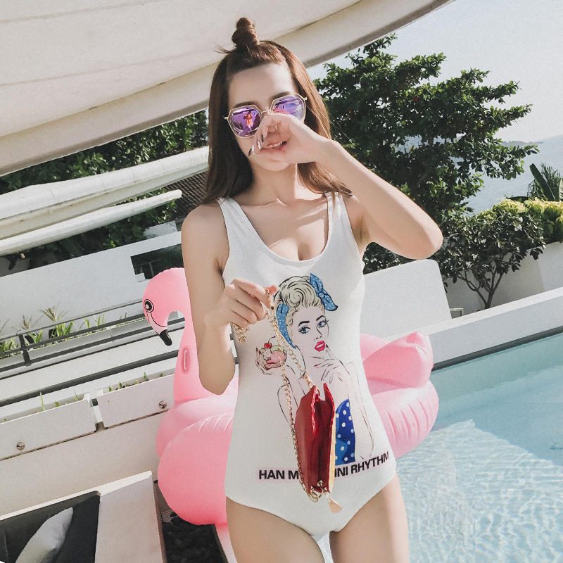 Sexy One Piece Swim Suits Swimwear Women Plavky Girls Large Size Swimsuits 2017 New After Stunning Halter 1737 Damy Maillot De one piece swimsuit cheap sexy bathing suits may beach girls plus size swimwear 2017 new korean shiny lace halter badpakken