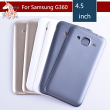 10pcs/lot For Samsung Galaxy Core Prime G360 G360H G360F Housing Battery Cover Door Rear Chassis Back Case Housing Replacement цена
