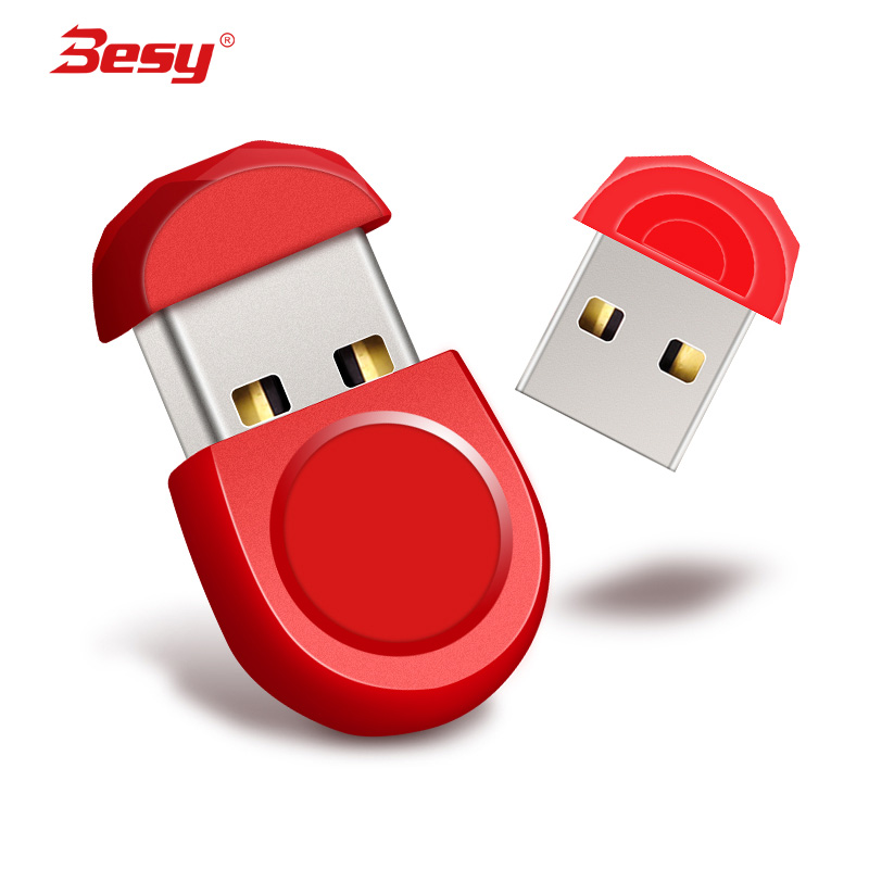 Fashion Super Mini metal usb flash drive 4GB 8GB 16GB pen Drive 32GB 64GB usb