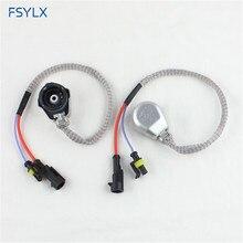 FSYLX D2S D2R D2C Ксеноновые HID лампы гнездо провода кабель адаптер Разъем Жгут D2S D2R D4 усилитель HID адаптер конвертер разъем Кабели