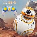 Entrega rápida Star Wars BB-8 2,4G Robot de Control remoto versión actualizada BB8 Smart Robot Sounds RC Ball regalos de juguete para niños