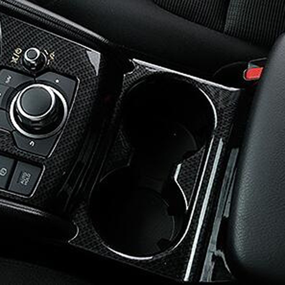 Car Rear Back Seat Water Cup Holder Ring for Mazda CX 9 CX-9 2016 2017 2018 ABS