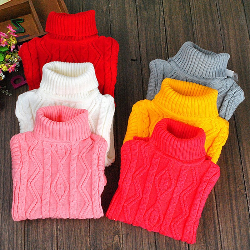 2016-winter-Hot-Sale-Infant-Baby-Boys-Girls-Children-Kids-Knitted-Autumn-Pullovers-Turtleneck-Warm-Outerwear