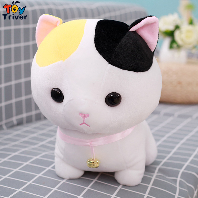 Plush Cartoon Short Leg Munchkin CAT Toy Stuffed Cats Doll Baby Kids ...