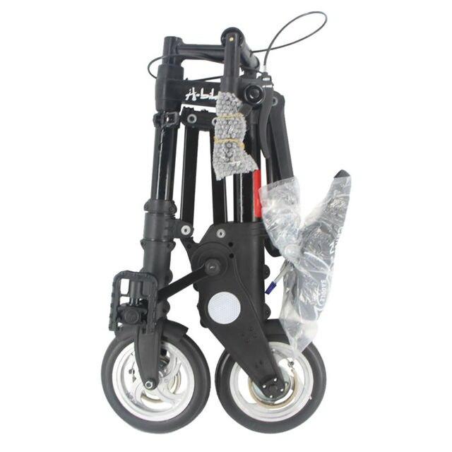 АЛЬТРУИЗМ-ВЕЛОСИПЕД Мини Складной велосипед 8 дюймов Алюминиевый сплав Новый Велосипед Мода Дорожные Велосипеды Спорта На Открытом Воздухе Велосипедов