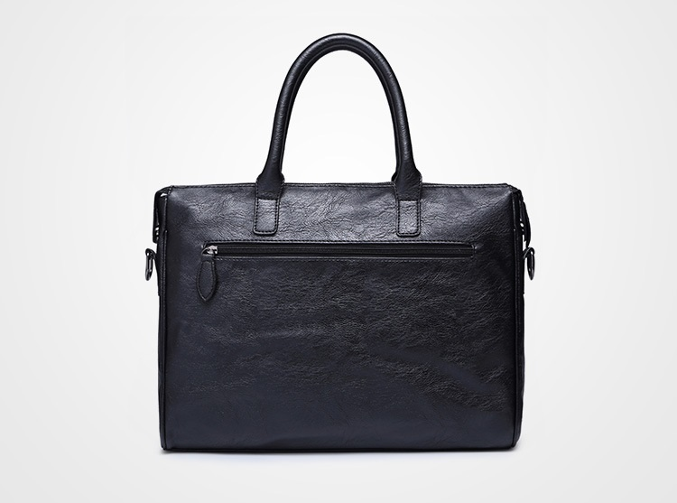 Men's Business Leather Shoulder Bag